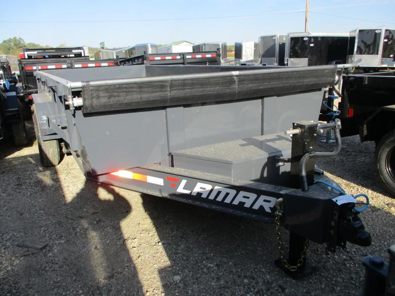 2020 Lamar Trailers 83x16 Tandem Axle Dump Trailer