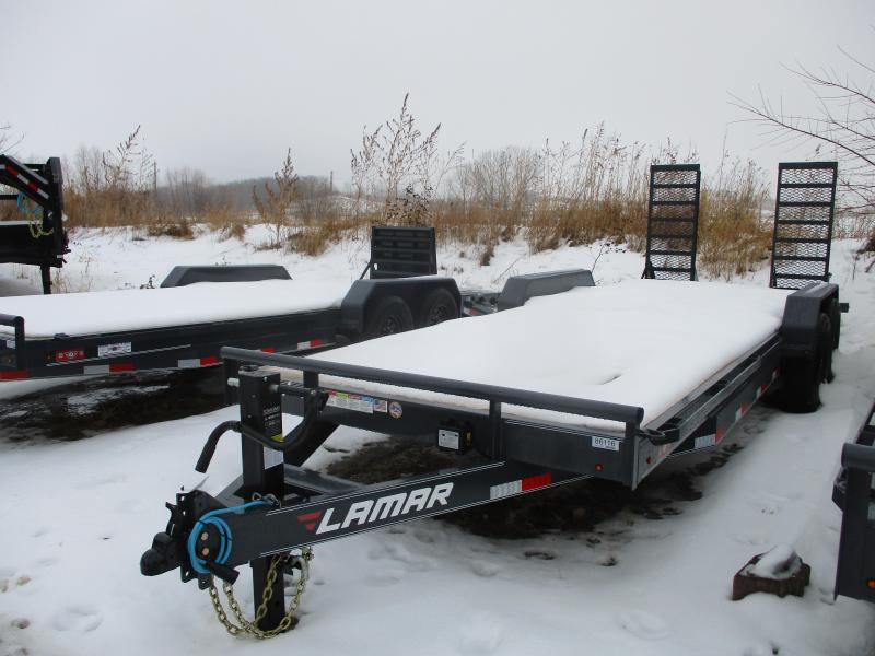 2020 Lamar Trailers 83x22 Tandem Axle Equipment Trailer
