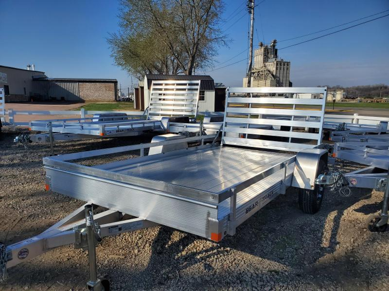 2020 Bear Track 76x12 Single Axle Aluminum Utility Trailer