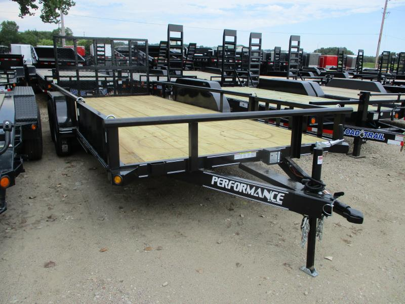 2019 Performance Trailers 83x18 Tandem Axle Utility Trailer