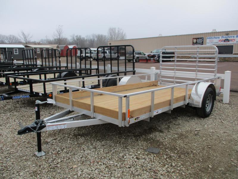 2019 Legend Manufacturing 6'x12' Single Axle Aluminum Utility Trailer