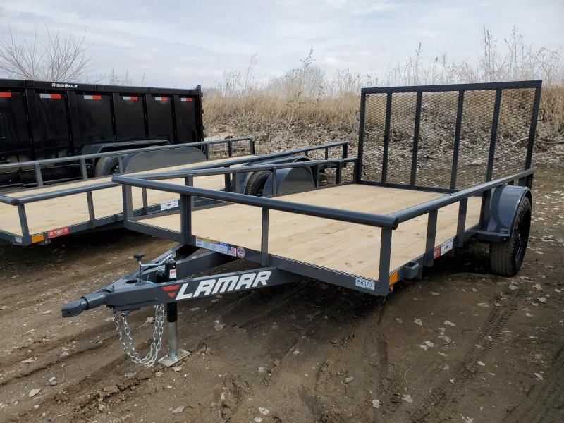 2020 Lamar Trailers 83x12 Single Axle Utility Trailer