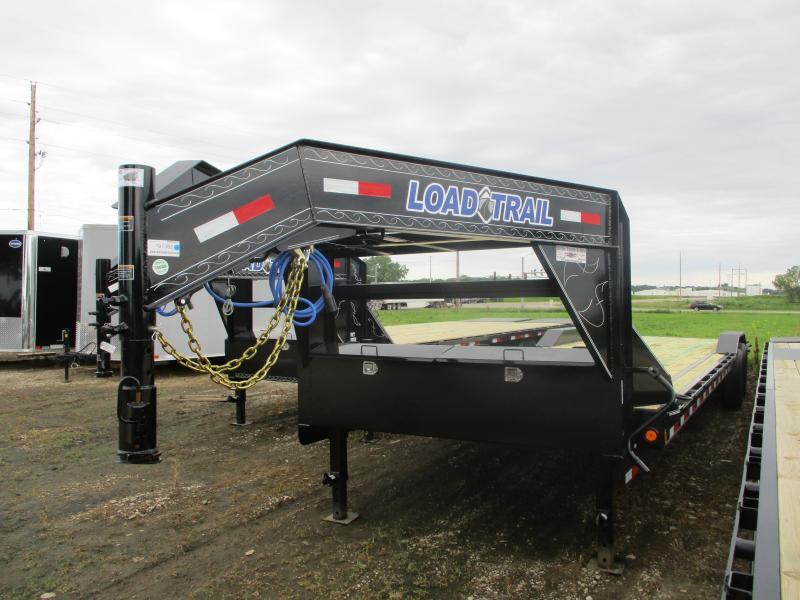 "2019 Load Trail 102""x32' Tandem Axle Gooseneck Carhauler Equipment Trailer"