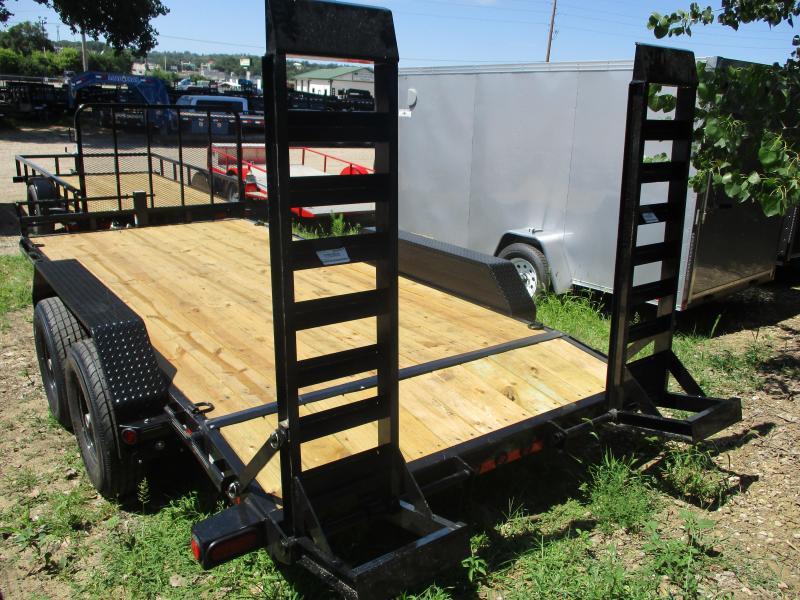 """2018 Load Trail 83""""x16' Tandem Axle Carhauler Equipment Trailer"""