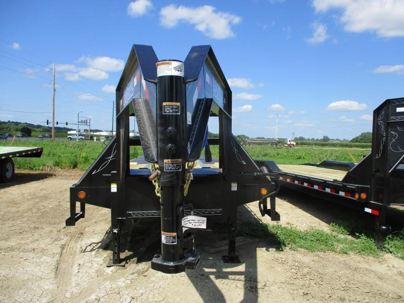 "2019 Load Trail 102"" x 25' Tandem Low Pro Gooseneck Flatbed Trailer"