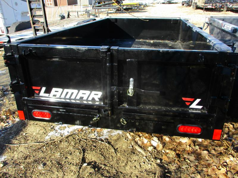 2020 Lamar Trailers 60x10 Single Axle Dump Trailer