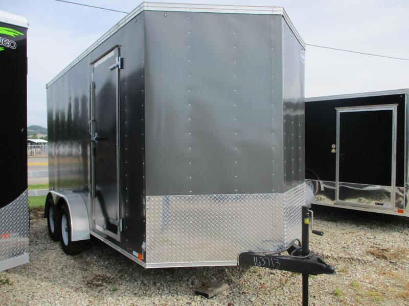 2020 United Trailers 7'x14' Tandem Axle Enclosed Cargo Trailer
