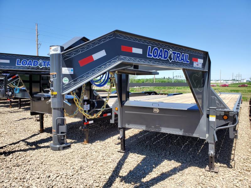 2020 Load Trail 102x30 Heavy Duty Gooseneck Flatbed Trailer