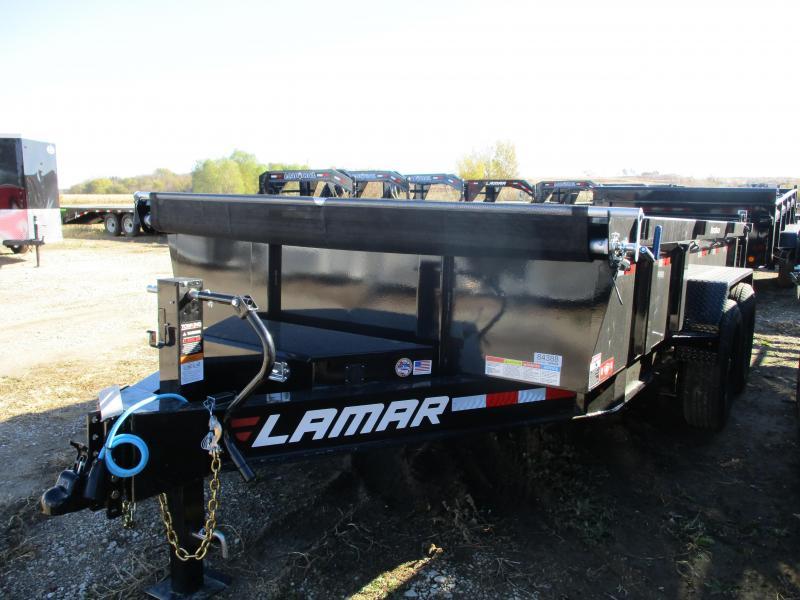 2020 Lamar Trailers 83x14 Tandem Axle Dump Trailer