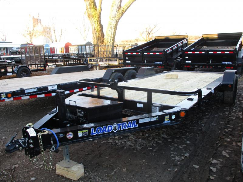 "2019 Load Trail 83""x15' Single Axle Tilt-N-Go Equipment Trailer"