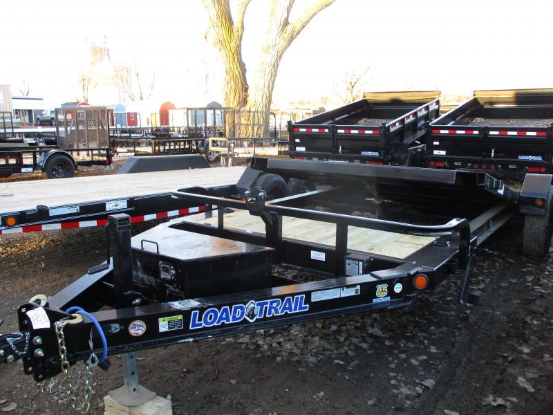 "2019 Load Trail 83""x15' Single Axle Tilt-N-Go Equipment Trailer"