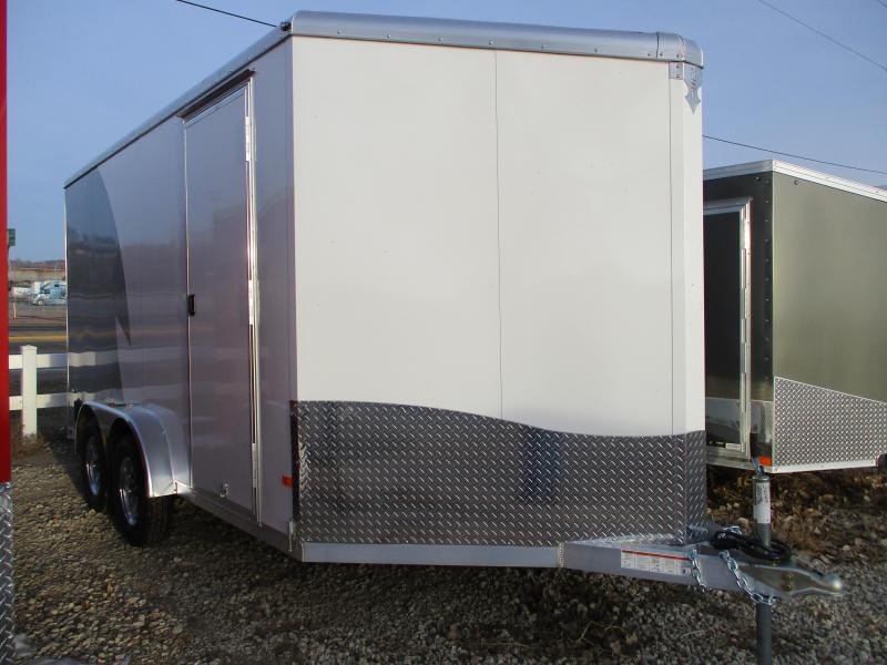 2020 NEO Trailers 7.5x14 Tandem Axle Aluminum Enclosed Cargo Trailer