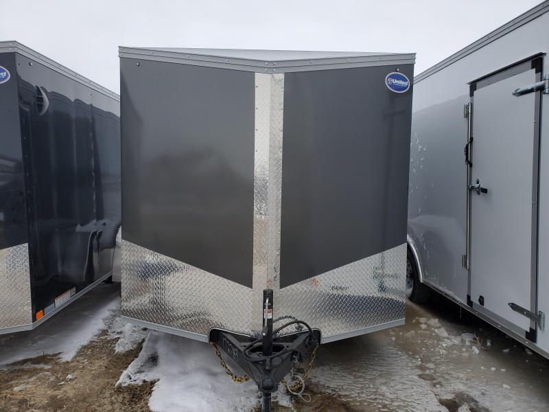 2019 United Trailers 7x14 Tandem Axle Enclosed Cargo Trailer