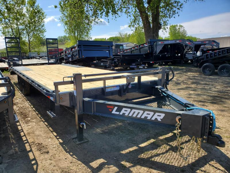 2020 Lamar Trailers 102x24 Tandem Axle Deck Over Equipment Trailer