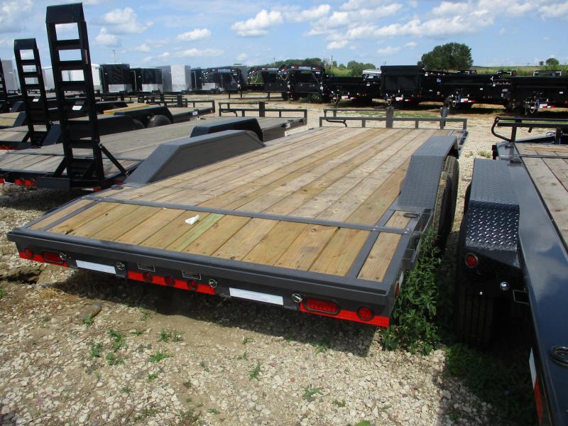 2018 Load Trail 102x20 Tandem Axle Carhauler Equipment Trailer