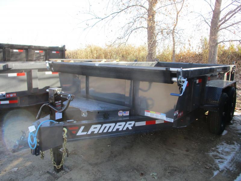 2020 Lamar Trailers 83x12 Tandem Axle Dump Trailer