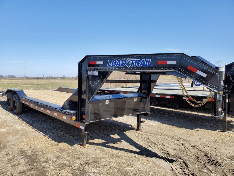 2020 Load Trail 102x26 Tandem Axle Gooseneck Carhauler Equipment Trailer