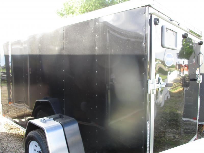 2020 United Trailers 6'x12' Single Axle Enclosed Cargo Trailer