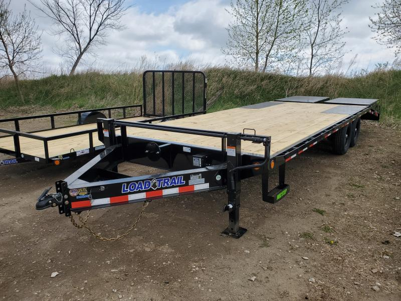 2020 Load Trail 83x24 Tandem Axle Deck Over Flatbed Trailer