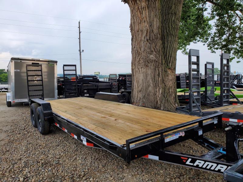 2020 Lamar Trailers 83x22 Tandem Axle Carhauler Equipment Trailer