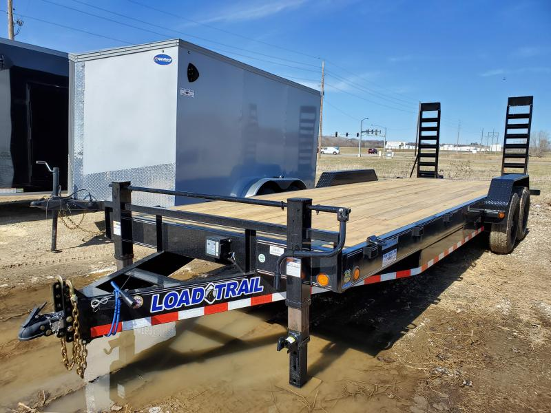 2020 Load Trail 83x24Tandem Axle Carhauler Equipment Trailer
