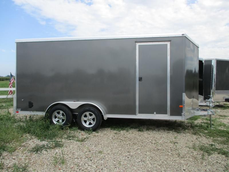 2020 NEO Trailers 7x16 Tandem Axle Aluminum Enclosed Cargo Trailer