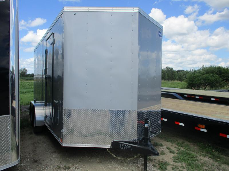 2020 United Trailers 7'x16' Tandem Axle Enclosed Cargo Trailer