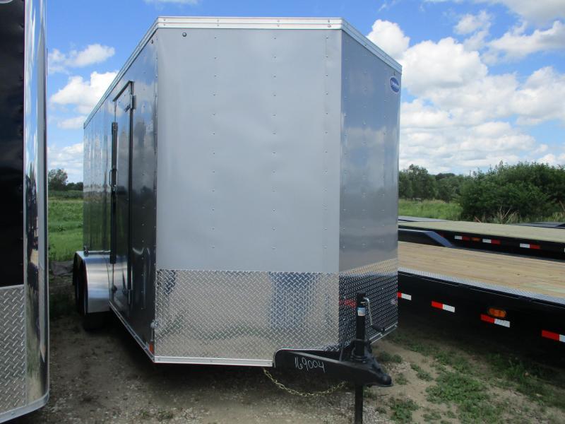 2020 United Trailers 7'x16' Tandem Axle Enclosed Cargo Trailer