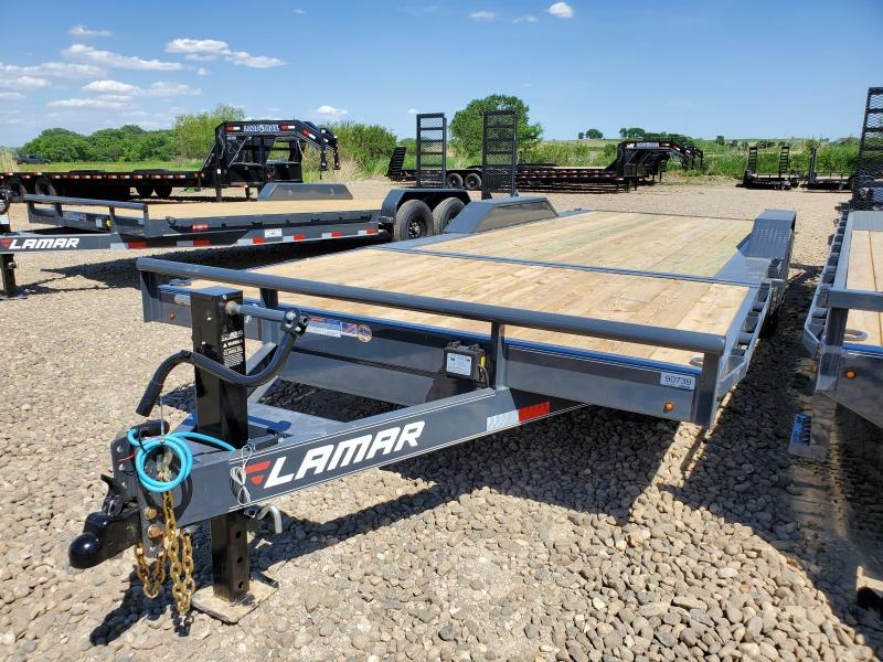 2020 Lamar Trailers 102X22 Tandem Axle Tilt Deck Equipment Trailer