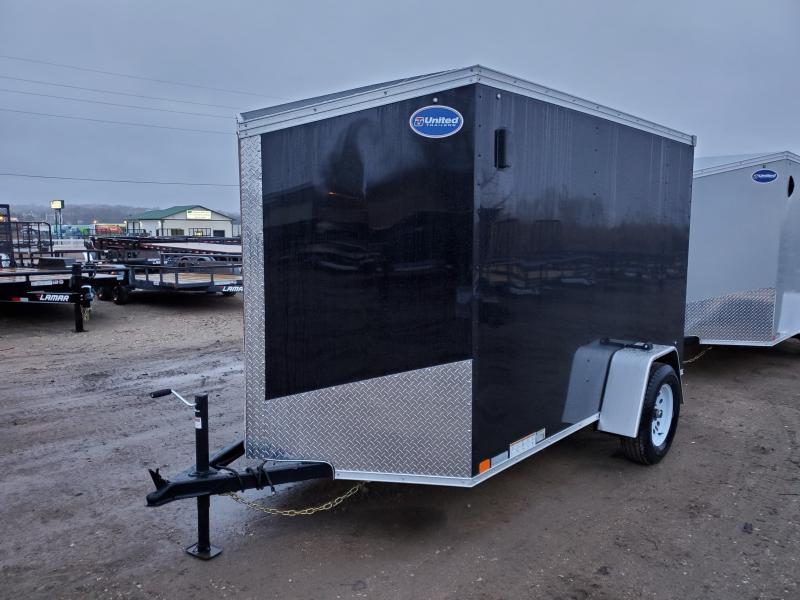 2020 United Trailers 6x10 Single Axle Enclosed Cargo Trailer