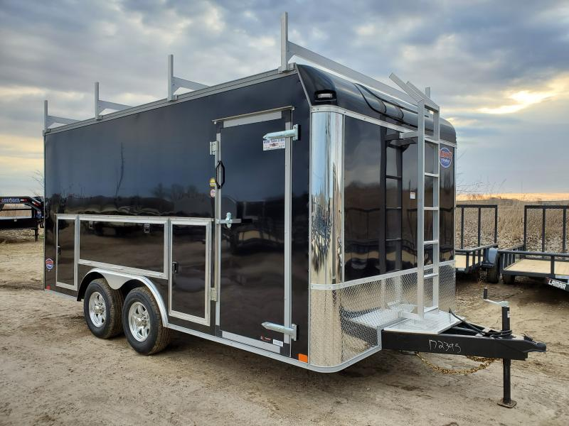 2020 United Trailers 8.5x16 Tandem Axle Enclosed Cargo Trailer