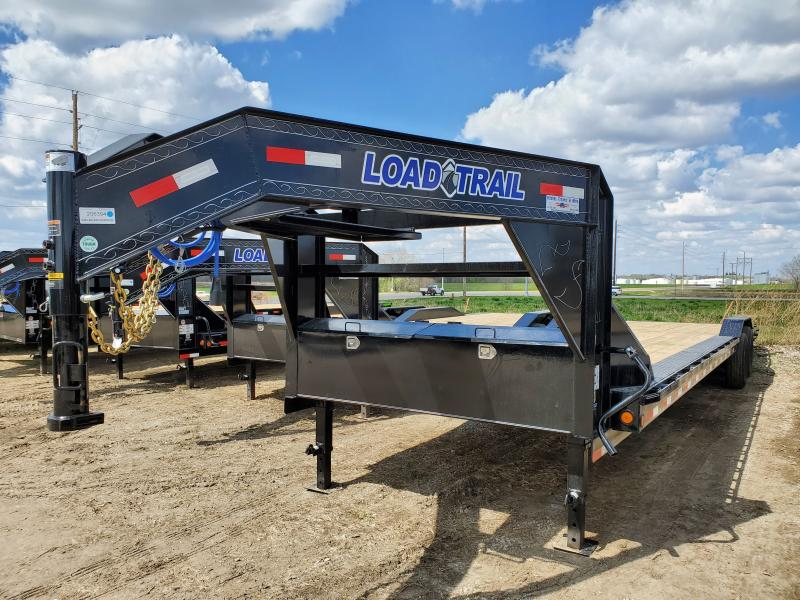 2020 Load Trail 102x34 Tandem Axle Gooseneck Carhauler Equipment Trailer