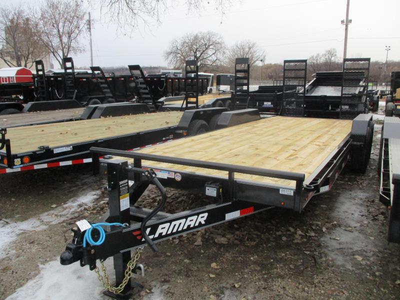 2020 Lamar Trailers 83x22 Tandem Axle Equipment Trailer