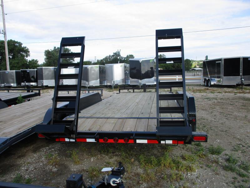 "2019 Load Trail 83""x18' Tandem Axle Carhauler Equipment Trailer"