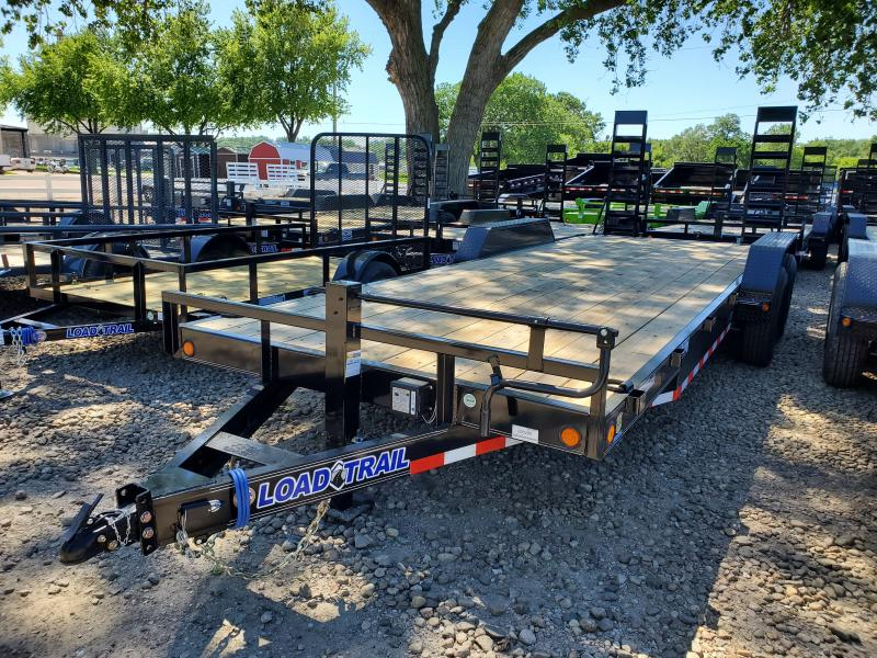 2020 Load Trail 102X22 Tandem Axle Carhauler Equipment Trailer