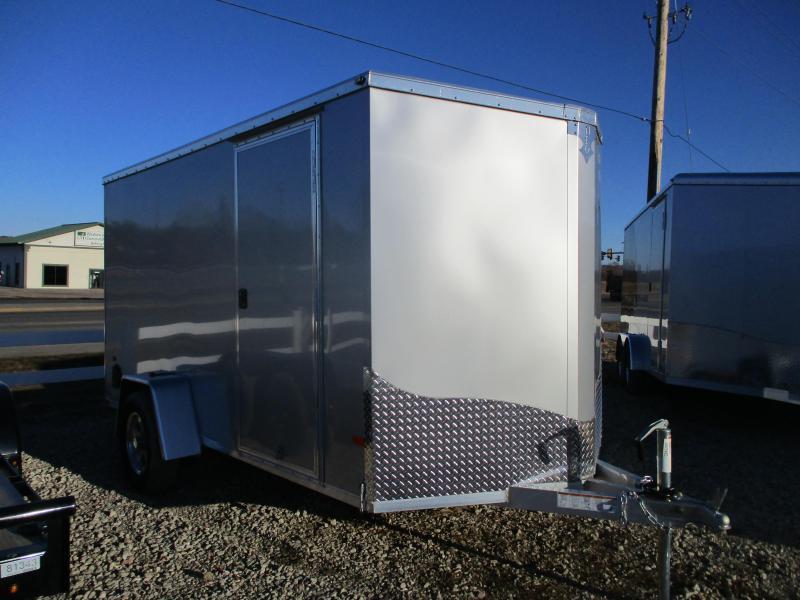 2020 NEO Trailers 6x12 Single Axle Aluminum Enclosed Cargo Trailer