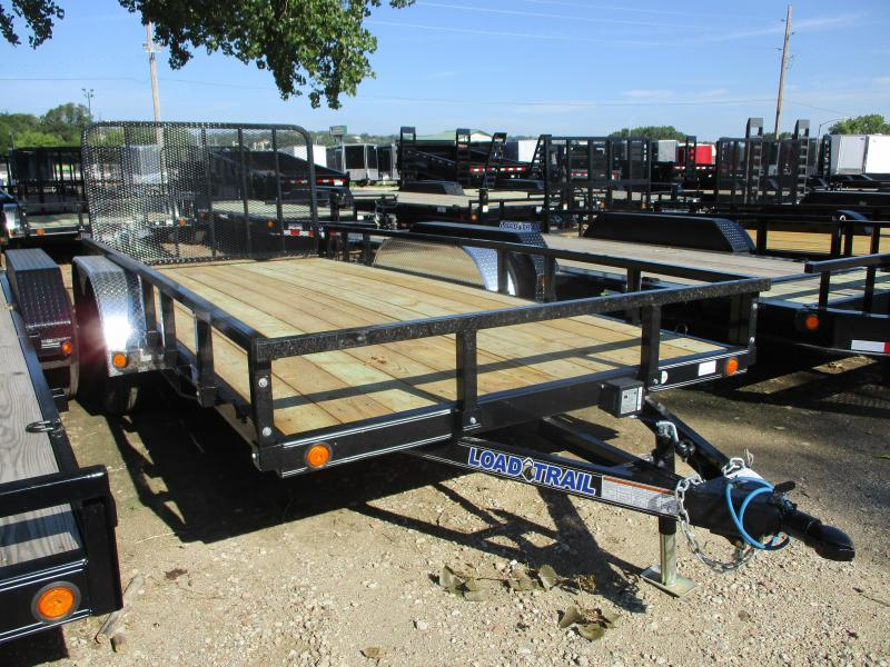 2019 Load Trail 83x16 Tandem Axle Utility Trailer
