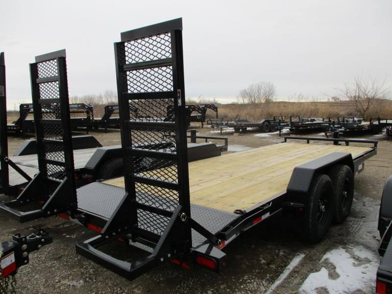2020 Lamar Trailers 83x20 Tandem Axle Equipment Trailer