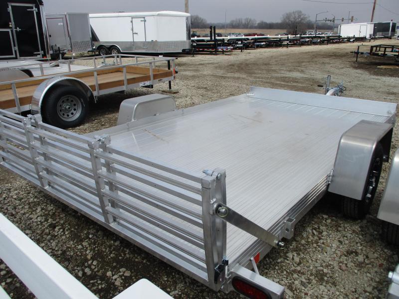 2019 Bear Track Products 82x12 Single Axle Aluminum Utility Trailer