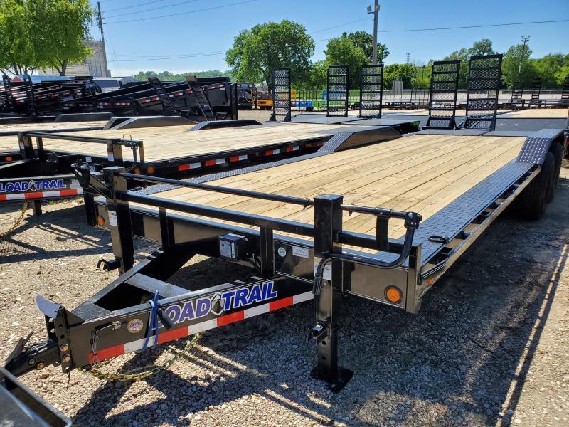 2020 Load Trail 102x24 Tandem Axle Carhauler Equipment Trailer