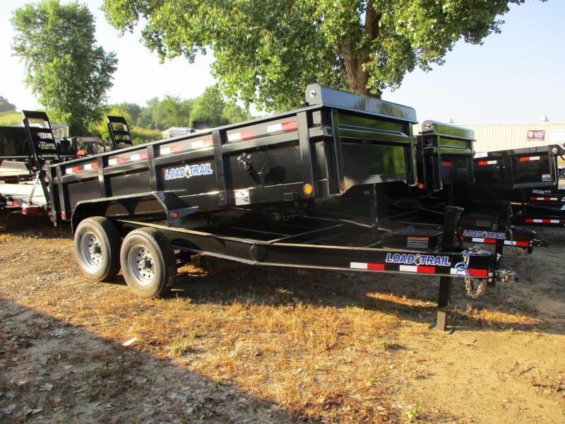 """2019 Load Trail 83"""" x 14' Tandem Axle Dump Trailer"""