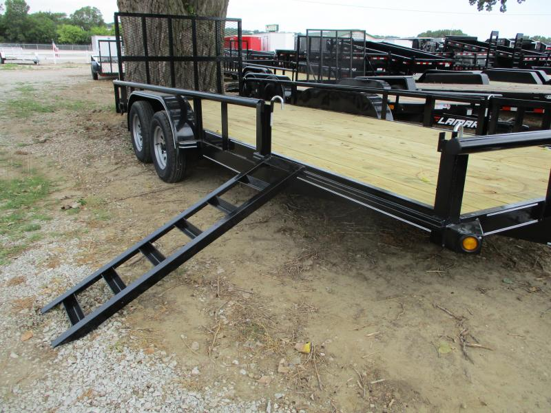 2019 Performance Trailers 83x20 Tandem Axle Utility Trailer