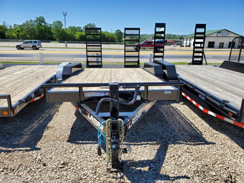 2020 Lamar Trailers 83x16 Tandem Axle Carhauler Equipment Trailer