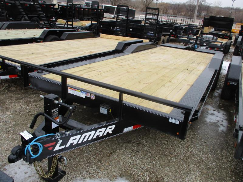 2020 Lamar Trailers 102x24 Tandem Axle Equipment Trailer