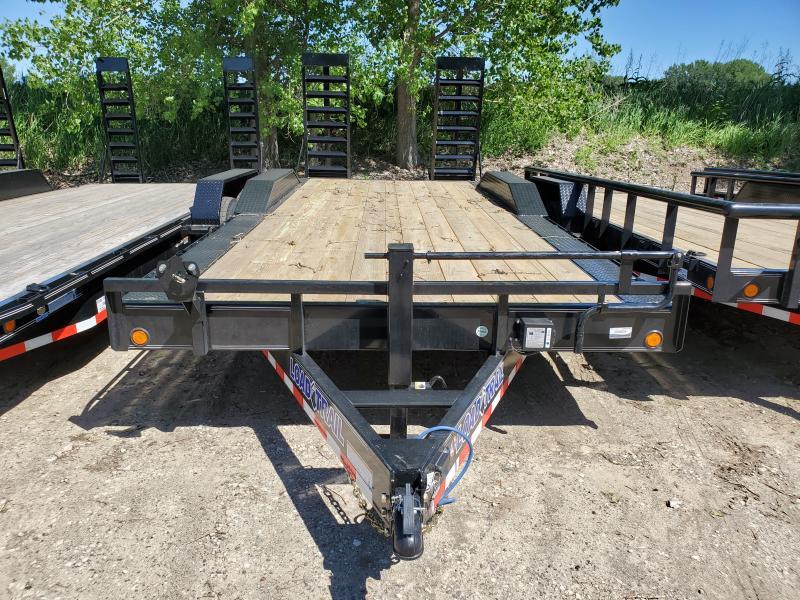 2020 Load Trail 102x20 Tandem Axle Carhauler Equipment Trailer