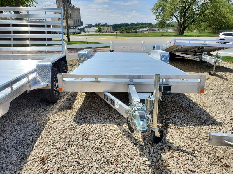 2020 Bear Track 81x18 Tandem Axle Equipment Trailer