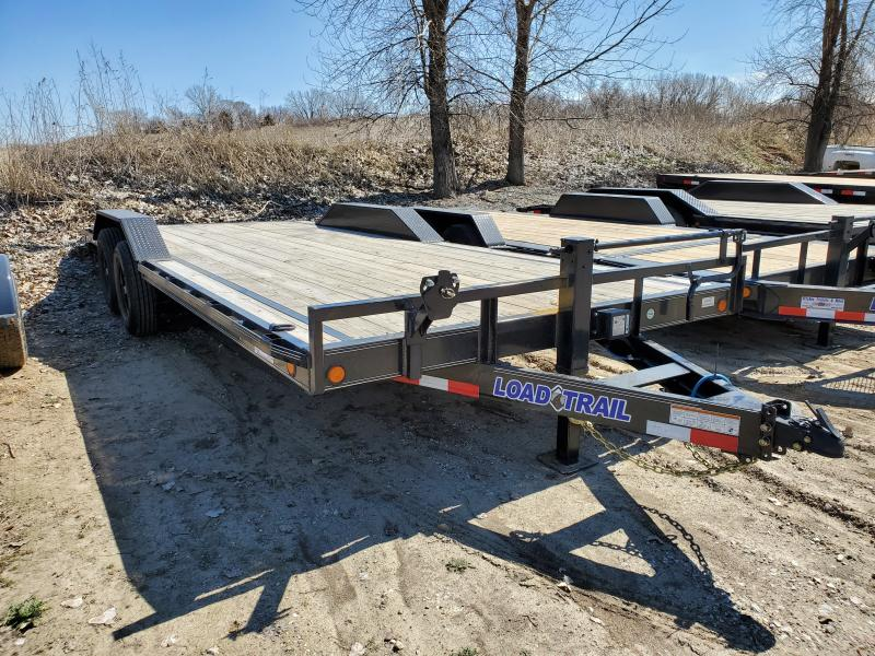 2020 Load Trail 102x22 Tandem Axle Carhauler Equipment Trailer