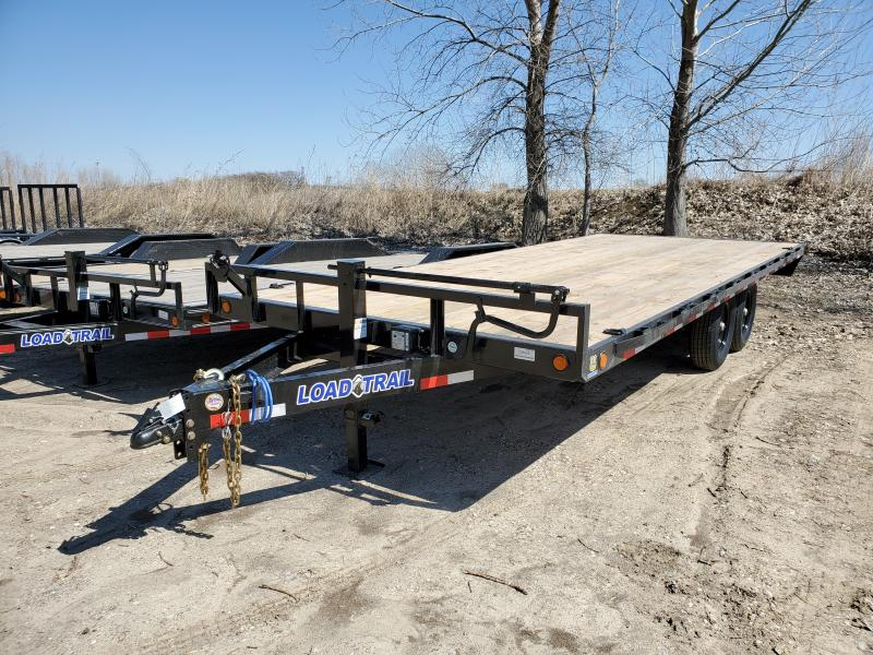 2020 Load Trail 102x20 Tandem Axle Deck Over Flatbed Trailer