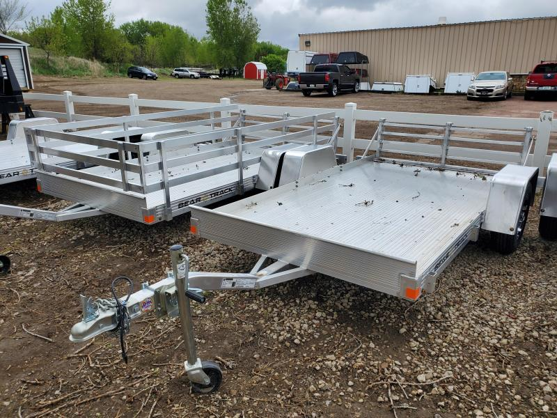 2020 Bear Track 65x10 Single Axle Aluminum Utility Trailer