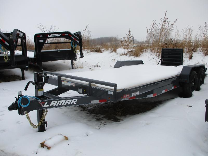 2020 Lamar Trailers 83x20 Tandem Axle Equipment Trailer
